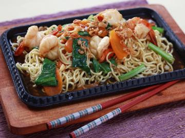 Mie Hot Plate Udang