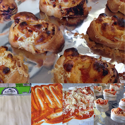 Puff Pastry Pizza Pinwheels - a dairy free, baby led weaning recipe