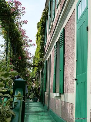 Giverny - maison de Monet - le clos normand