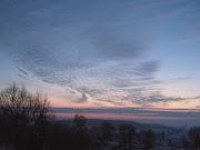 Sonnenaufgang im Februar