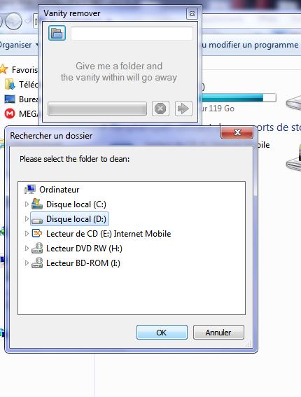 how to delete empty folders