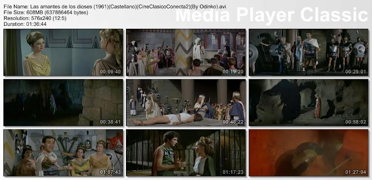 Las amantes de los Dioses | Le Baccanti | capturas Cine clasico