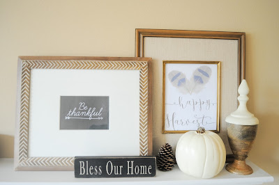 budget friendly fall mantel ideas