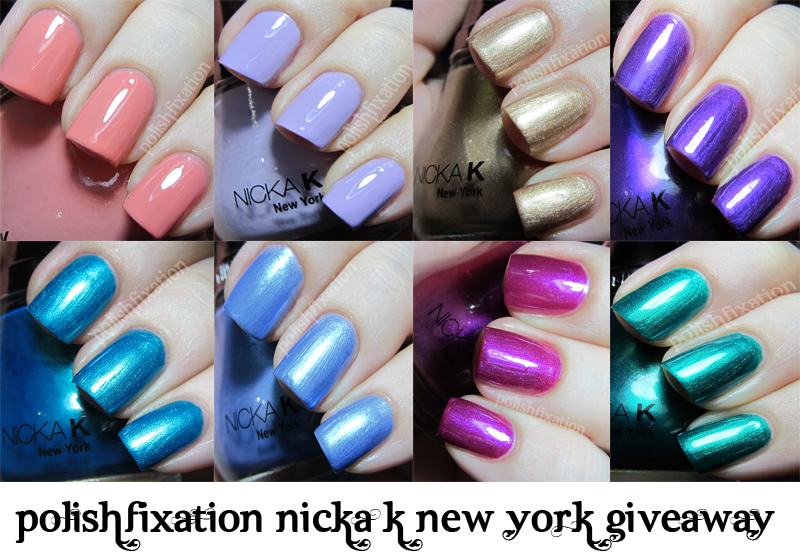 polish fixation: Nicka K New York Nail Color Give-Away!