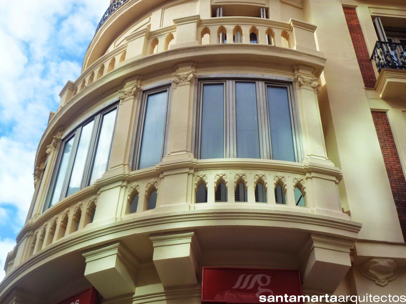 Aspecto de la misma zona tras la rehabilitación de las fachadas