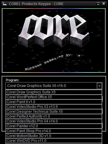 Corel draw x6 software with keygen
