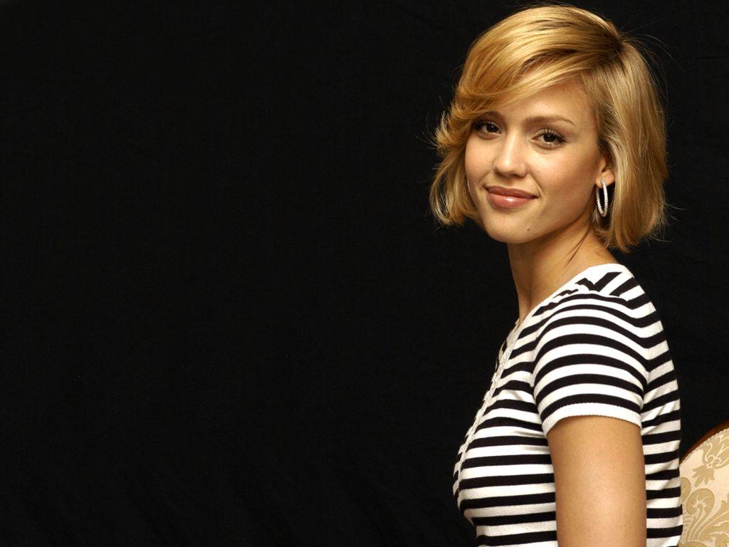 Jessica alba blonde