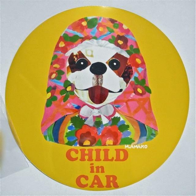 CHILD in CARステッカー チャイルドインカー