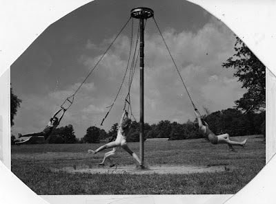 1950s playground equipment