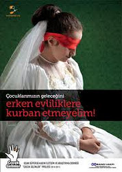 ÇOCUK GELİNLERE HAYIR!!