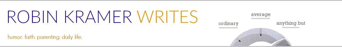 Robin Kramer Writes