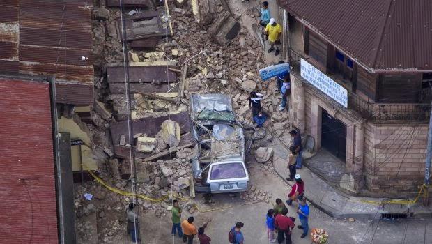 CONFIRMAN 4 MUERTOS EN GUATEMALA Y 1 EN MEXICO POR SISMO DE 7,1 GRADOS, 7 de Julio 2014