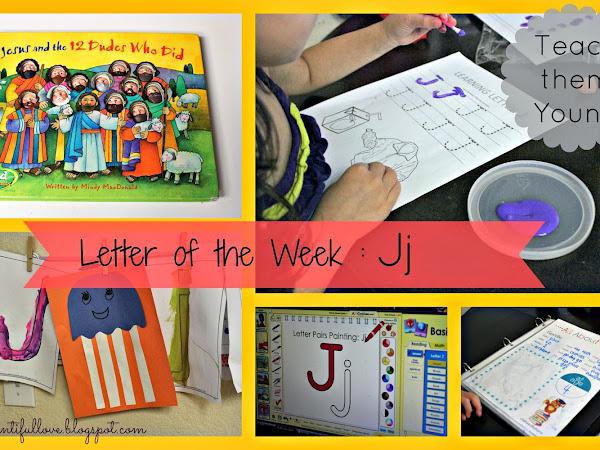 Letter of the Week : Jj