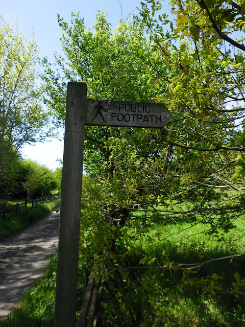 Public Footpath sign - photography