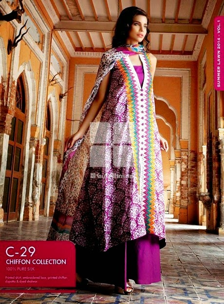 Latest Fancy Summer Dresses by Gul Ahmed