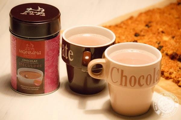 chocolade-speculoos poeder, Monbana
