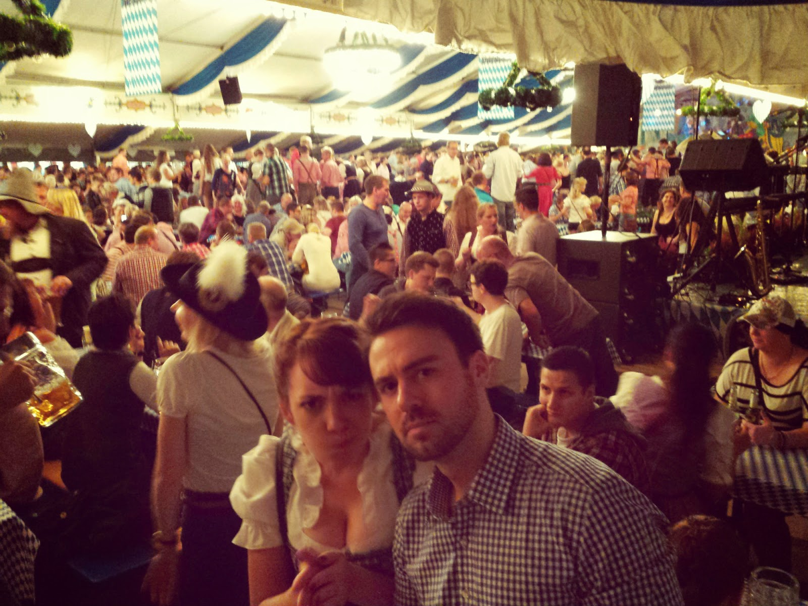 Fun at Lüneburg Oktoberfest