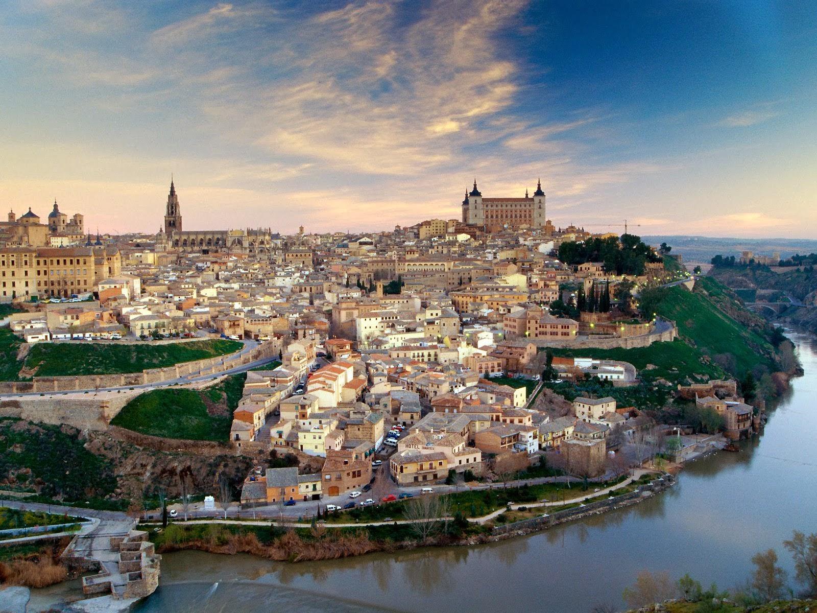 西班牙托萊多古城
