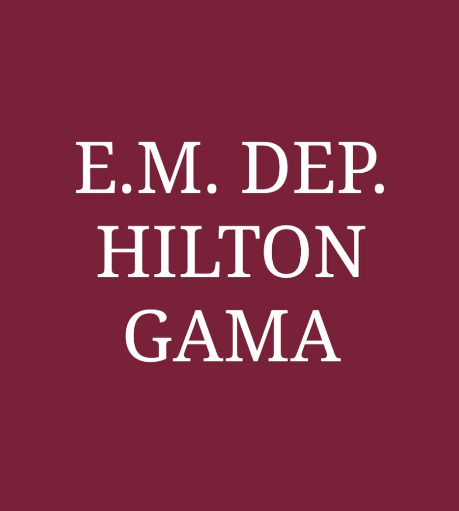 EM DEPUTADO HILTON GAMA