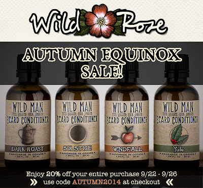 Wild Rose's Autumn Equinox Sale!