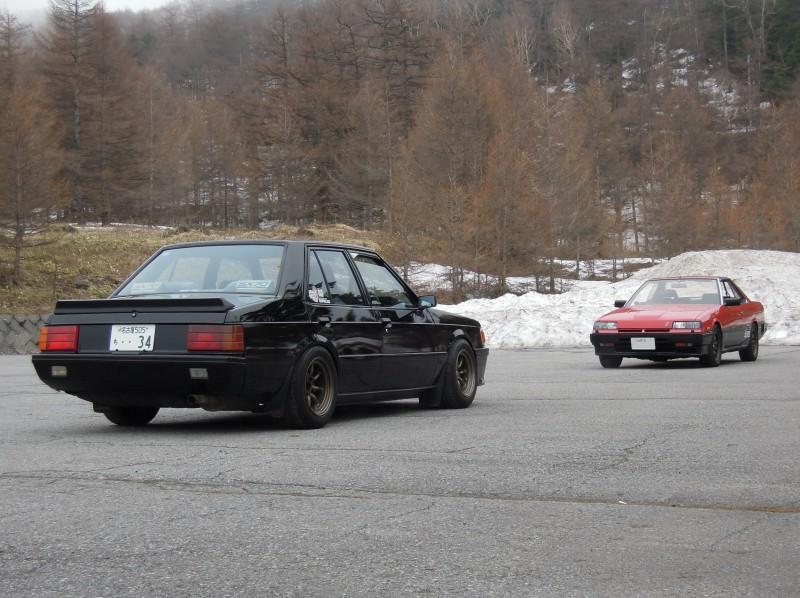Mitsubishi Lancer II & Nissan Skyline R30
