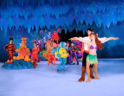 Disney on Ice Ariel from The Little Mermaid in Newcastle