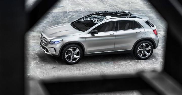 Bil og Motorbloggen: Nyheter: Mercedes GLA