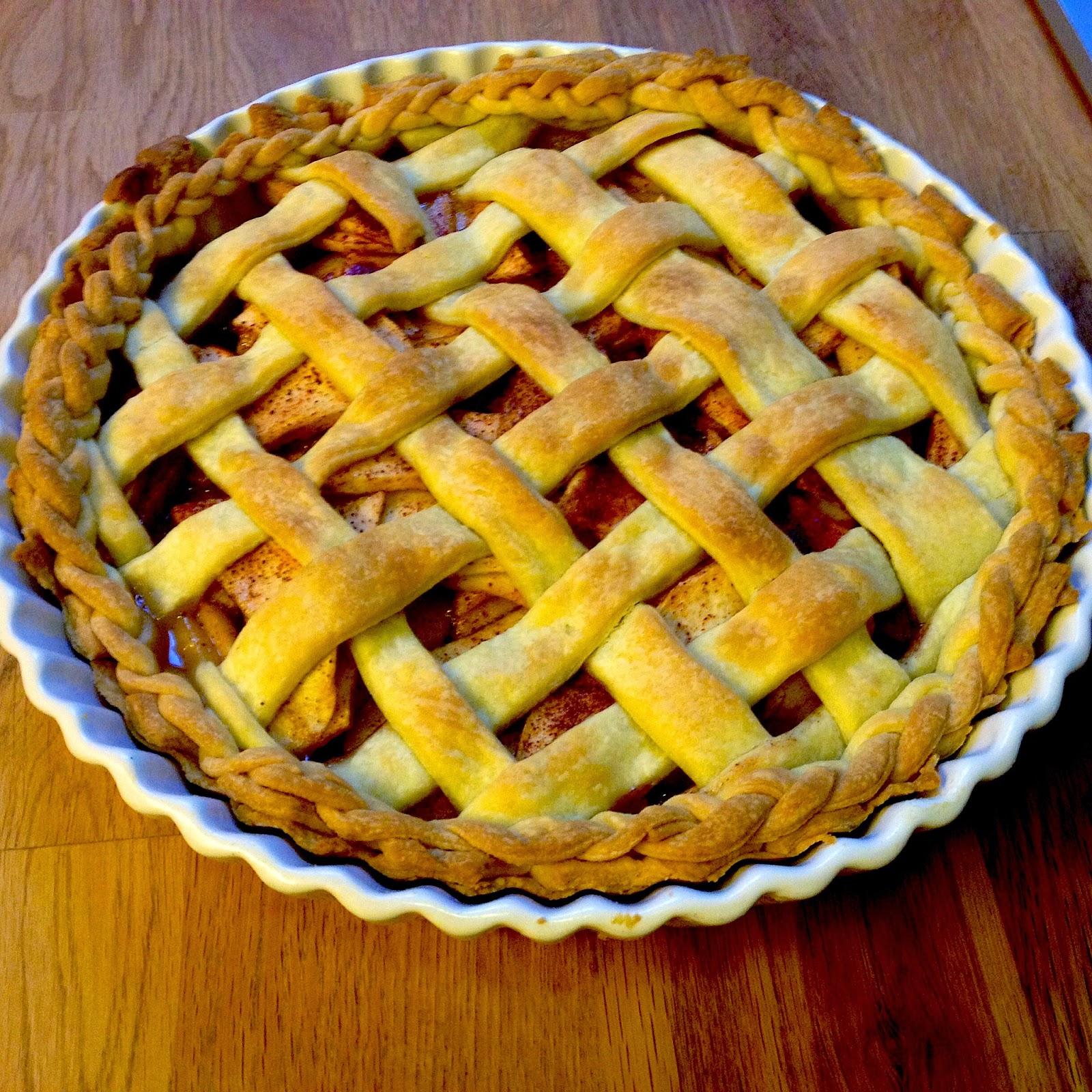 lattice crust homemade apple pie recipe