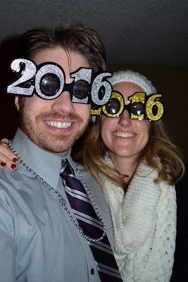Of course, we rang in the new year in style...