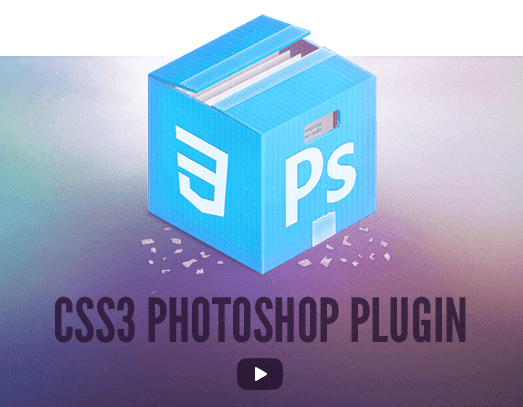 CSS3PS Photoshop Plugins