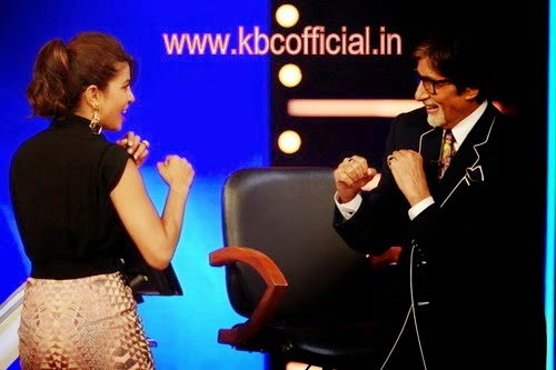 Priyanka Chopra on KBC
