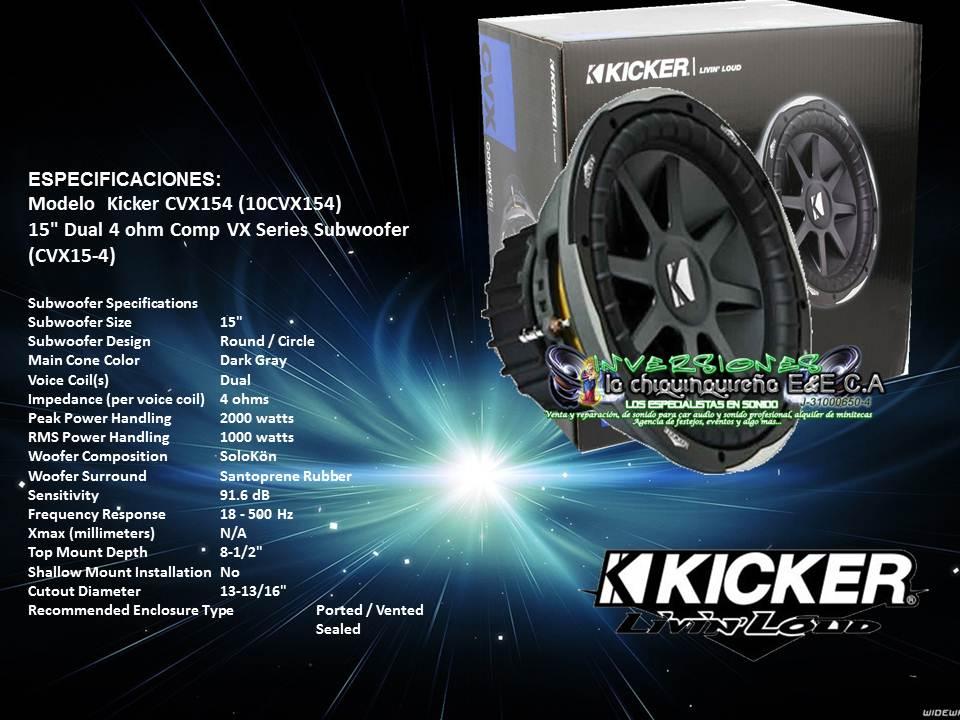 90+ 2 Kicker Cvx 15 - Wiring Kicker Cvx 15 Diagram Services U2022 Rh ...