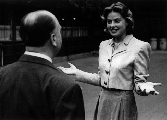 Ingrid y Hitchcock