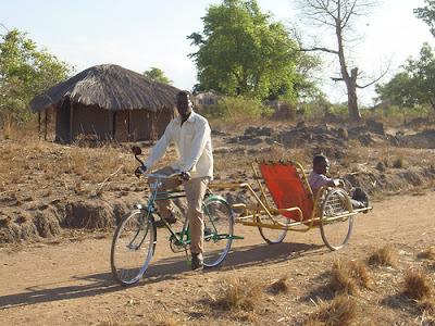 Penggunaan Sepeda di Afrika