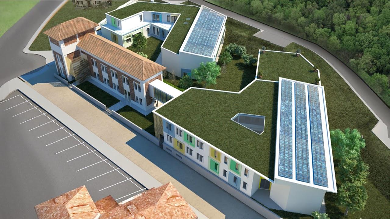progettazione del nuovo complesso scolastico
