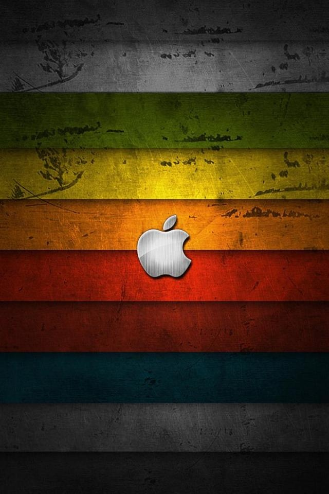 iPhone 4 Apple logo Wallpaper