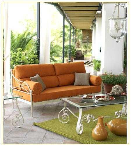 Decorando Dormitorios: Muebles de Fierro para Terraza - photo#21