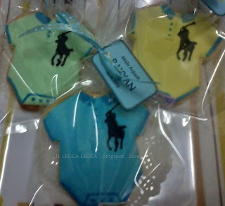 Fancy cookies baby rompers polo