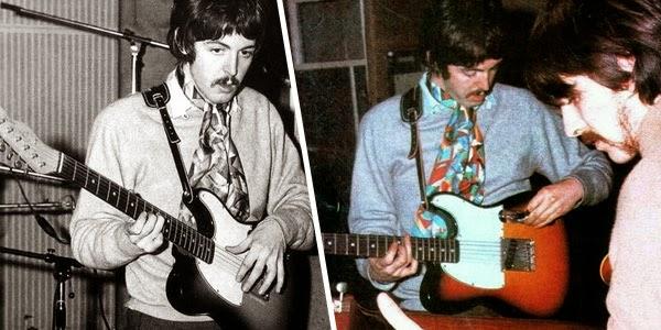 Gitar Paul McCartney Pada Masa The Beatles