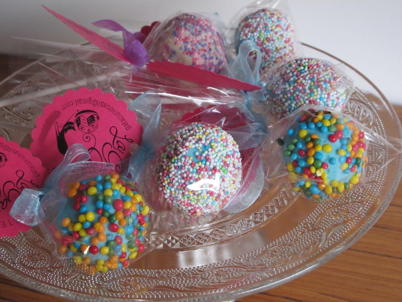 La gata curiosa cake pops de chocolate y naranja for Cake pops cobertura