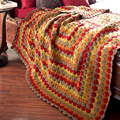 Catherine Wheel Blanket - Free Pattern