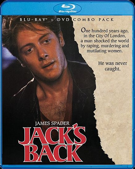 Jack's Back Blu-ray cover