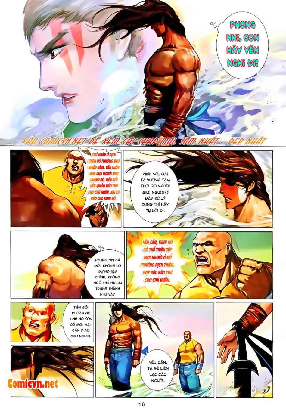 Phong Vân chap 650 Trang 16 - Mangak.info