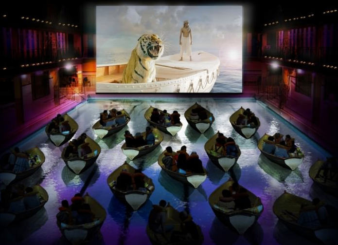 rosie slade life of pi swimming pool cinema