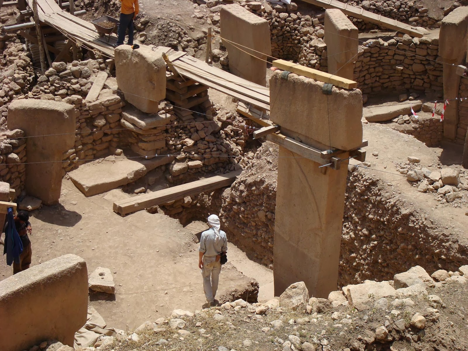 temples of gobekli tepe Archaeologists worldwide are in rare agreement on the site's importance 'gobekli tepe changes everything,' says ian hodder, at stanford university.