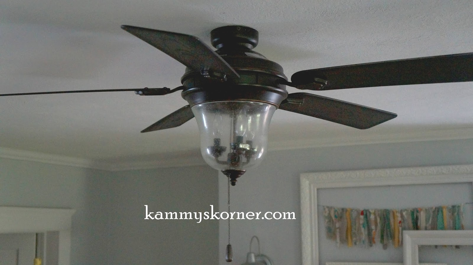 Menards Ceiling Fan: so itu0027s not as powerful as itu0027s predecessor but it keeps me from  thinking iu0027m hitting menopause early and even though itu0027s a ceiling  fan i ...,Lighting