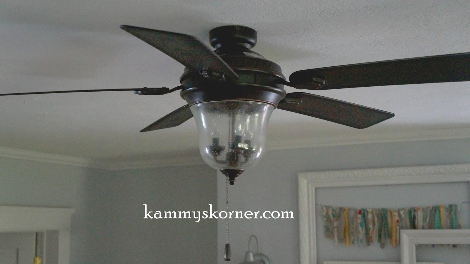 Kammy s Korner Ceiling Fan Style From Dislike To Love