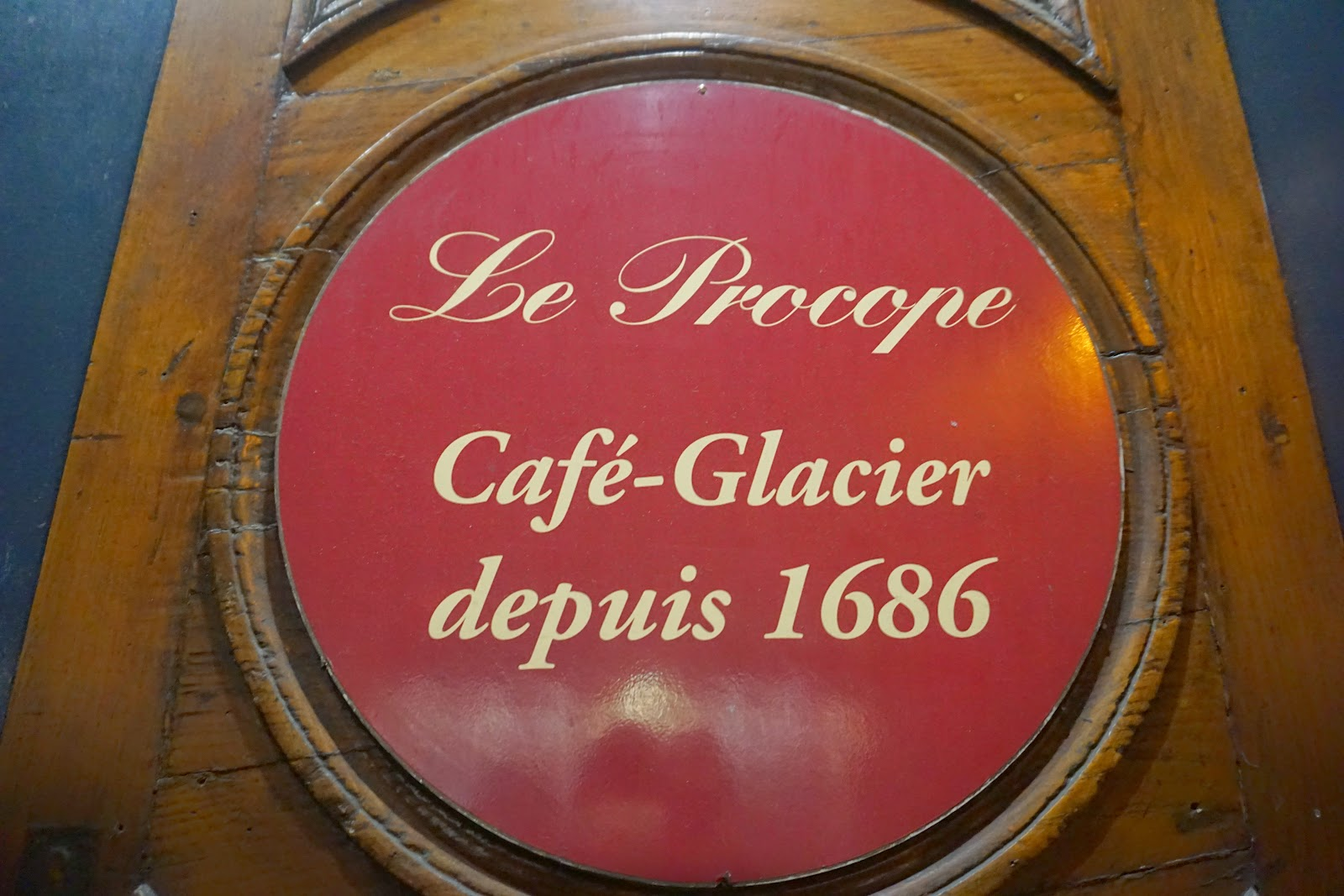 paris oldest cafe now an expansive restaurant le procope is packed with flavor good cheer and rich history to boot - Expansive Cafe 2015