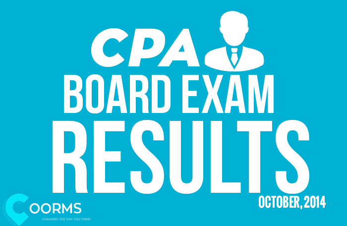 The complete list of passers from PRC for CPA results October 2014