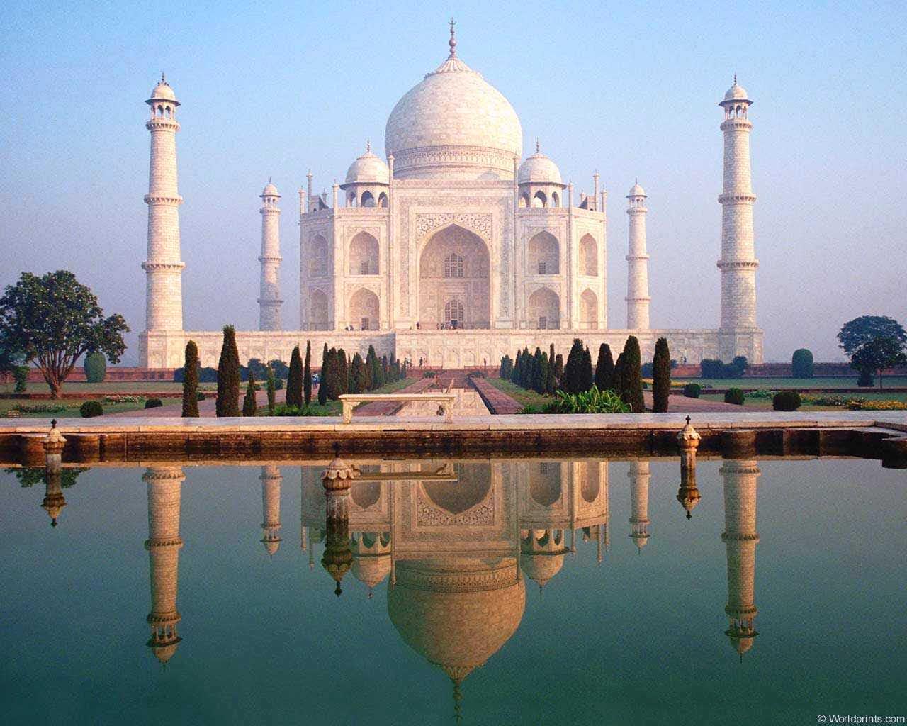The Most Beautiful Cities The Taj Mahal The Masterpiece Of Art